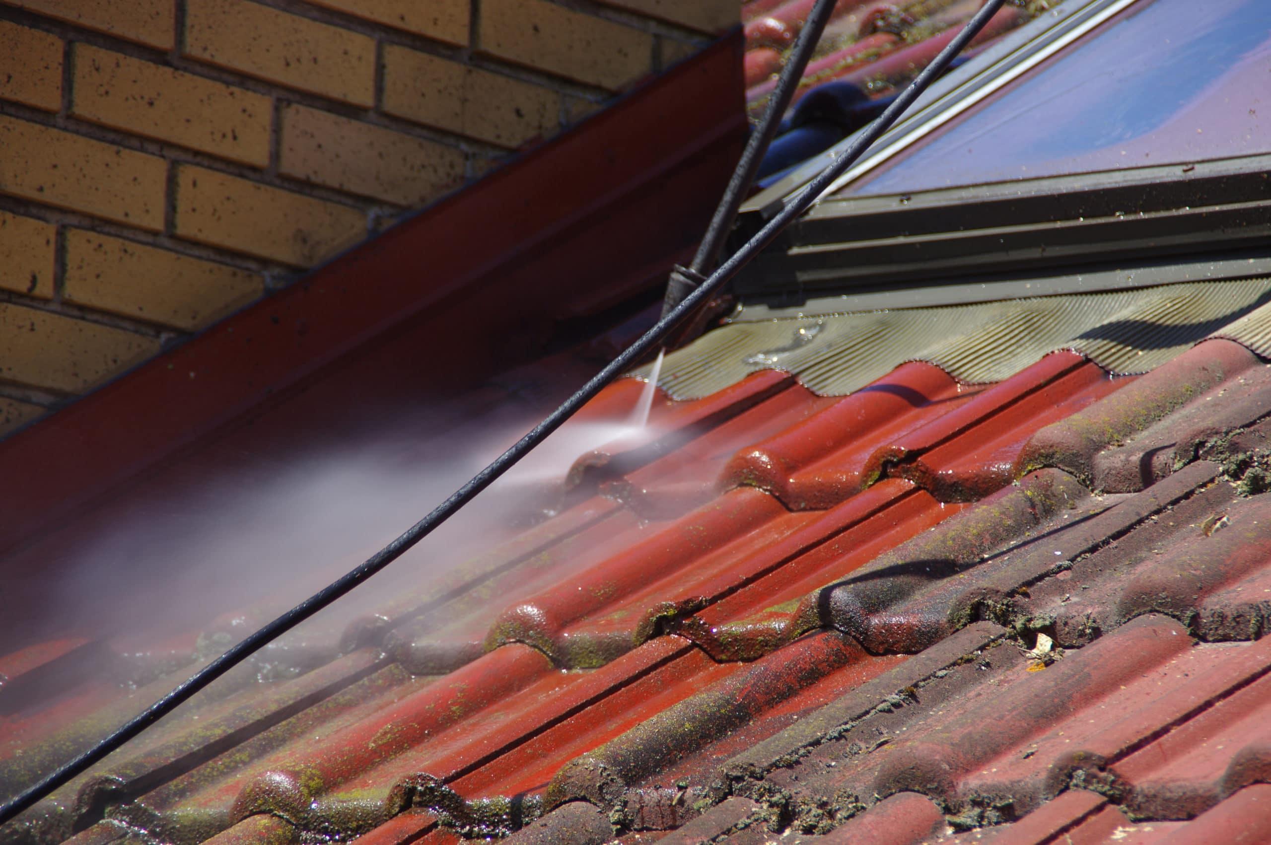 démoussage de toitures